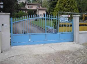 Metallerie portail coulissant automatique